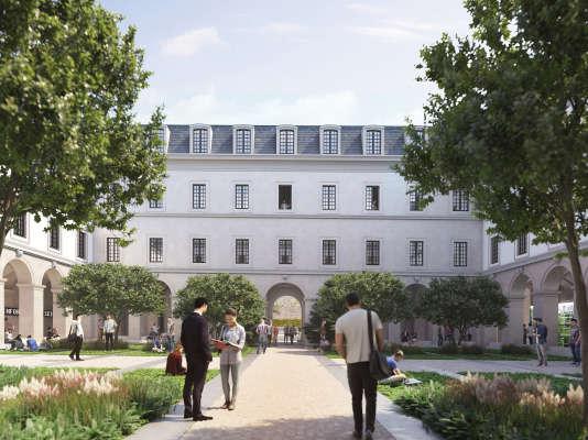Le projet de réaménagement de la Cour Sébastopol