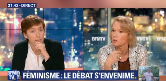 Capture écran de l'émission «News et Compagnie», sur BFM-TV, mercredi 10 janvier.