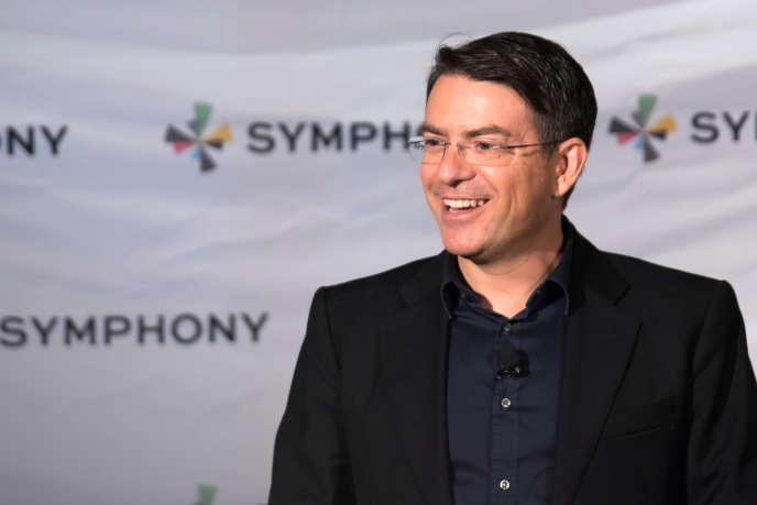 David Gurlé, fondateur de Symphony, start-up dont lamessagerie instantanée sécurisée a conquis les traders et les salles de marché.