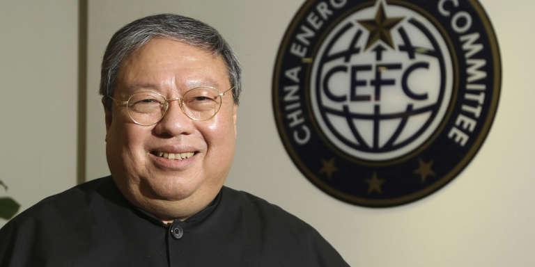 L'ancien secrétaire à l'intérieur de Hongkong (2002-2007) Patrick Ho en juillet 2015.