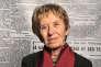 Michelle Perrot, le 3 octobre 2009 dans les locaux du « Monde».