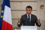 Emmanuel Macron, à l'Elysée, le 12 janvier.