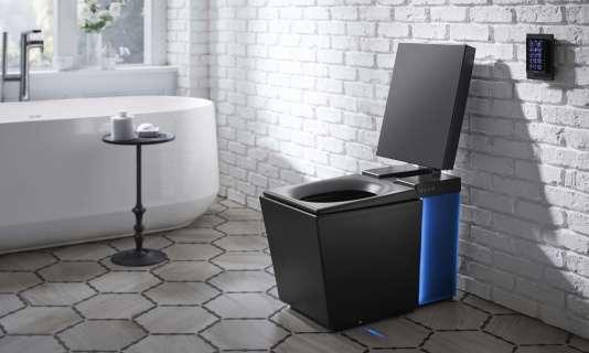 Kohler propose une salle de bains (et des toilettes) connectée.