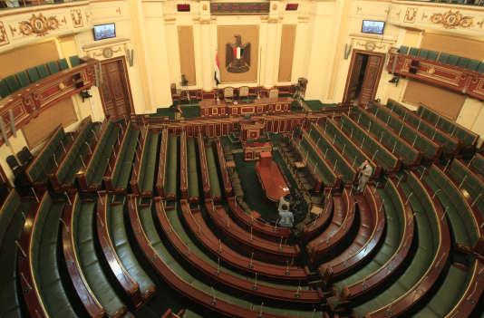 Au Parlement égyptien, en 2012.