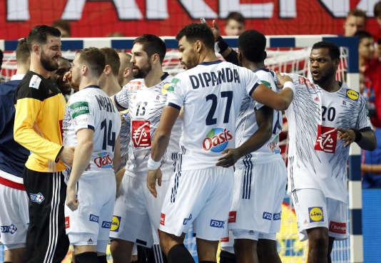 Les handballeurs français jubilent : les voilà au deuxième tour de l'Euro.