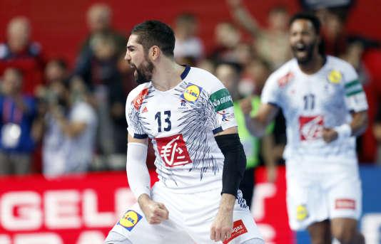Nikola Karabatic et ses coéquipiers se sont imposés à la dernière minute face à la Norvège, pour leur entrée dans l'Euro.