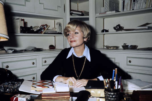 Françoise Dorin, en 1974.