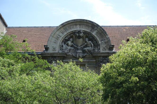 L'Ecole d'ingénieurs des arts et métiers, à Paris.