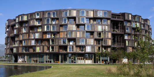 La résidence étudiante Tietgenkollegiet, à Copenhague.