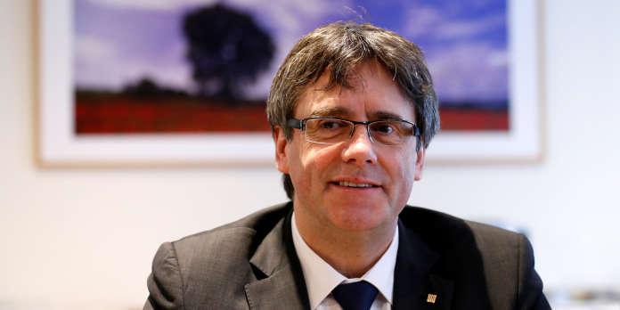 Carles Puigdemont souhaite diriger la Catalogne depuis la Belgique