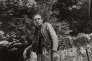Louis-Ferdinand Céline dans sa propriété de Meudon (Hauts-de-Seine), en 1959.