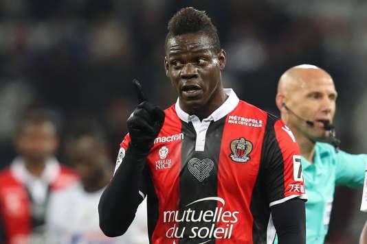 Mario Balotelli a disputé 25 minutes de qualité face à Amiens, même s'il n'a pas marqué.