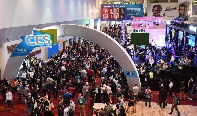 Le Consumer Electronics Show, à Las Vegas (Nevada), 11 janvier.