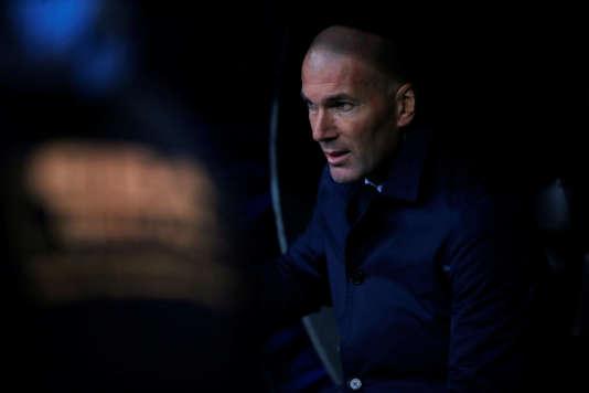 Zinedine Zidane ne jubile pas: Cristiano Ronaldo ne marque plus un but.