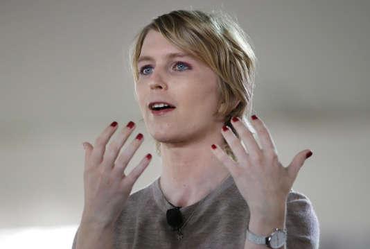 Chelsea Manning, candidate aux sénatoriales américaines, a assisté à un rassemblement de l'« alt-right» américaine, le 21 janvier à Nantucket.