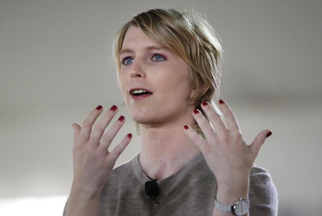 Chelsea Manning le 11 janvier à Nantucket, dans le Massachussetts.