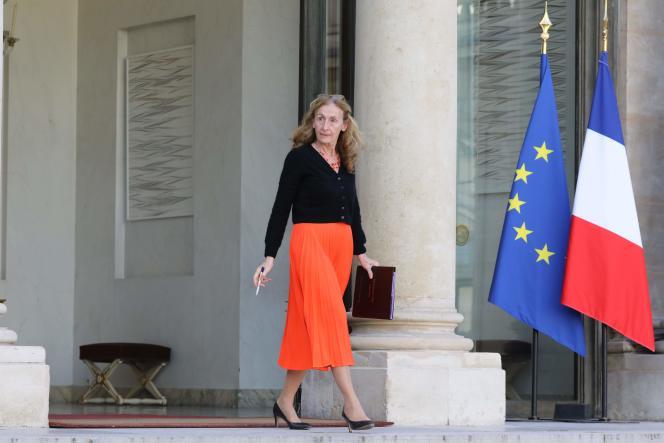 La ministre de la justice, Nicole Belloubet, le 7 novembre à l'Elysée.