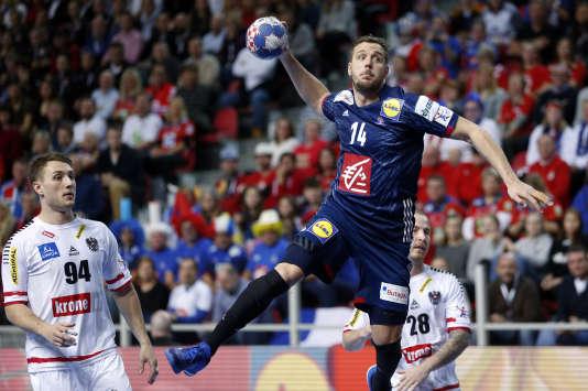 Kentin Mahé a inscrit trois buts en trois tentatives, en seulement 15 minutes de jeu.