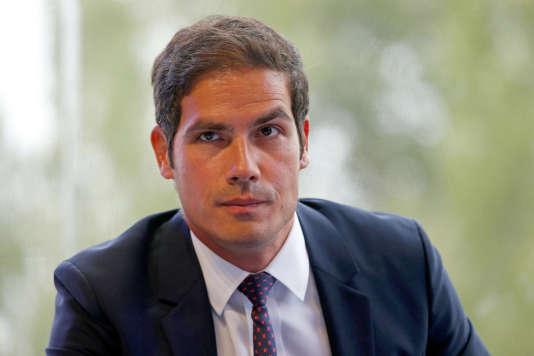 Mathieu Gallet, en août 2014.