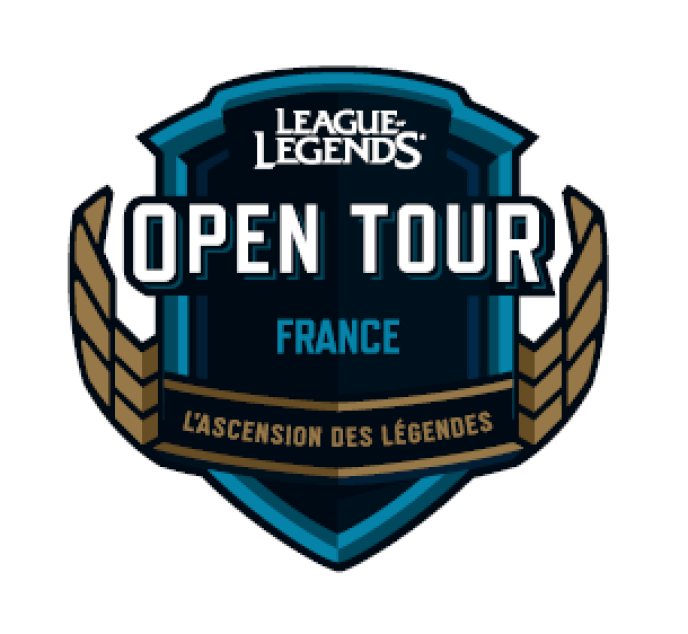 Le logo de l'Open Tour.