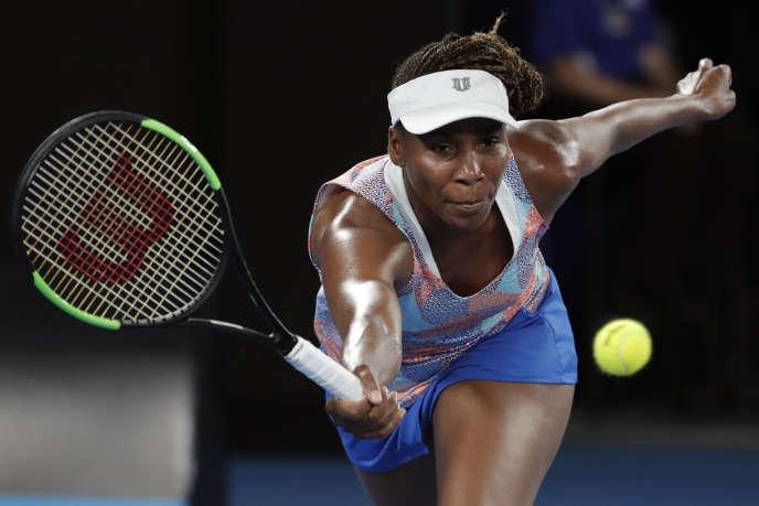 Venus Williams a été éliminée dès le premier tour de l'Open d'Australie.