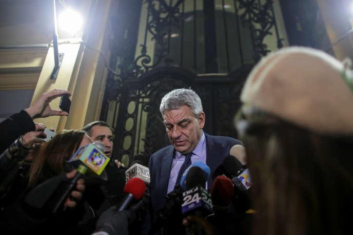 Mihai Tudose à Bucarest, le 15 janvier.
