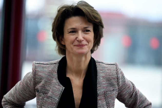 Isabelle Kocher, directrice générale d'Engie, en janvier2015.