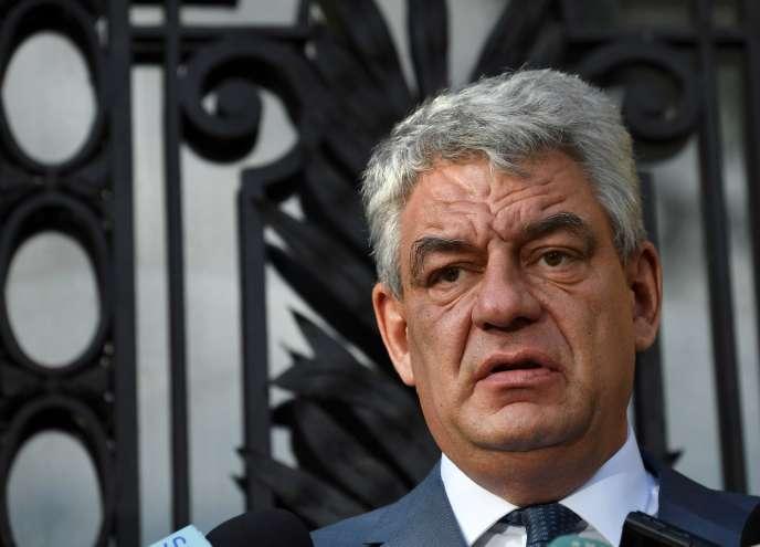 L'ancien premier ministre roumain Mihai Tudose, le 10 octobre 2017 à Bucarest.