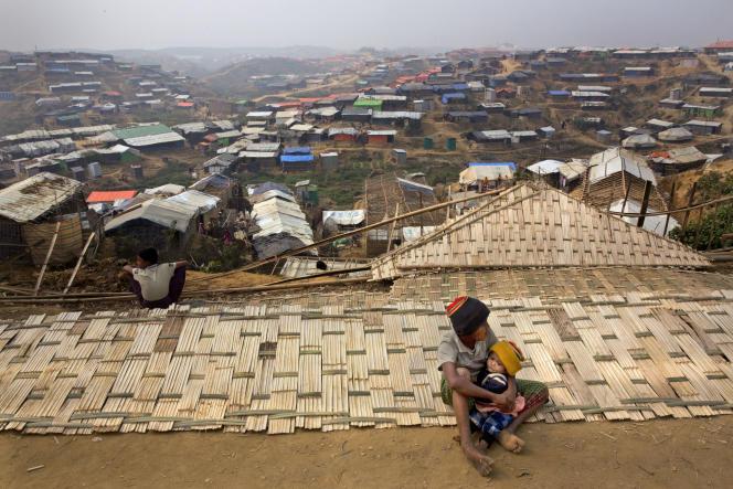 Dans le camp de réfugiés de Balukhali, au Bangladesh, le 15 janvier.