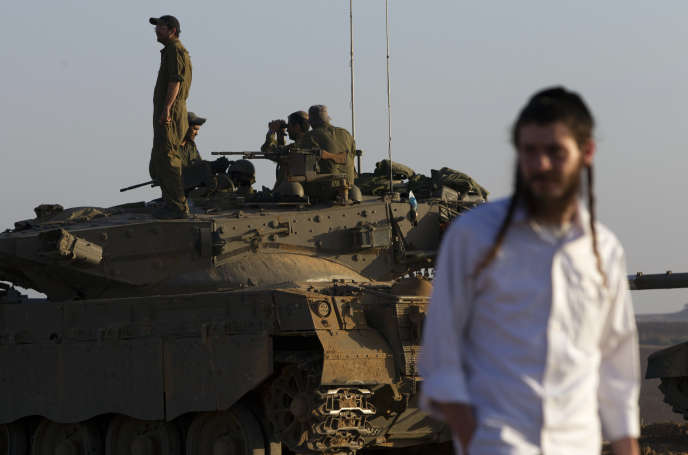 A Gaza, le 30 juillet 2014.
