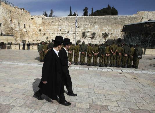 A Jérusalem, le 22 février 2012.