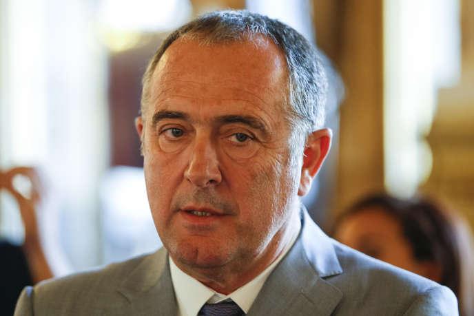 Le sénateur Didier Guillaume, le 24 septembre 2017 à Paris.