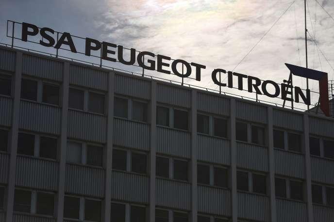 L'usine PSA de Mulhouse, le 24 octobre.