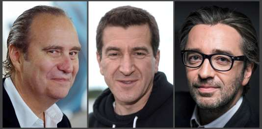 Xavier Niel, Matthieu Pigasse et Pierre-Antoine Capton.