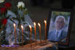 Hommage à Oliver Ivanovic, assassiné à Mitrovica le 16 janvier.