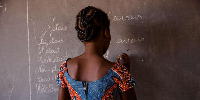 Dans une école de Bobo-Dioulasso, au Burkina Faso, en décembre 2017.