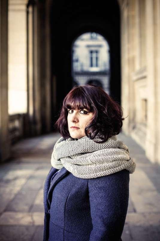 Peggy Sastre, à Paris, le 14 janvier.