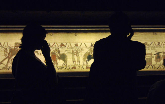 La tapisserie de Bayeux, en 2007.