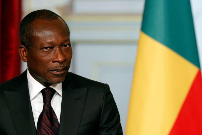 Le président béninois Patrice Talon, à Paris, le 26 avril 2016.