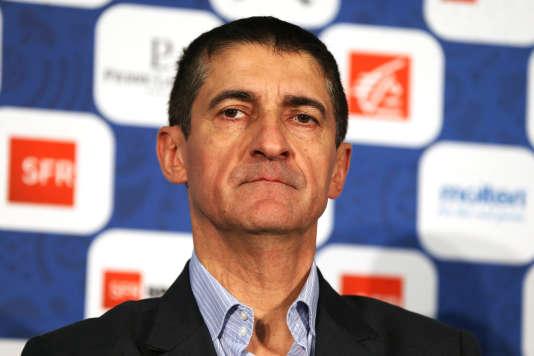 Jean-Pierre Siutat, président de la Fédération française de basket-ball.