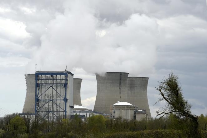 La centrale nucléaire du Bugey, le 8 avril 2016 à Saint-Vulbas (Ain).