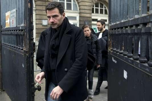 Jérôme Kerviel, ancien tradeur de la Société générale, le 21 mars 2016, à Paris.