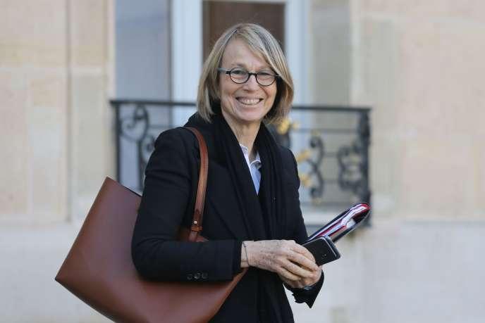 Françoise Nyssen, la ministre de la culture, le 17 janvier à Elysée.