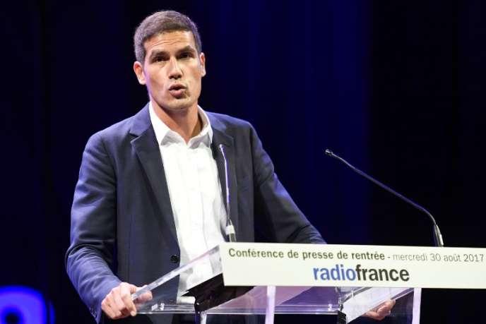 Mathieu Gallet, le 30 août 2017, à Paris.