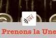 L'association Prenons la« Une» est née en janvier 2014.