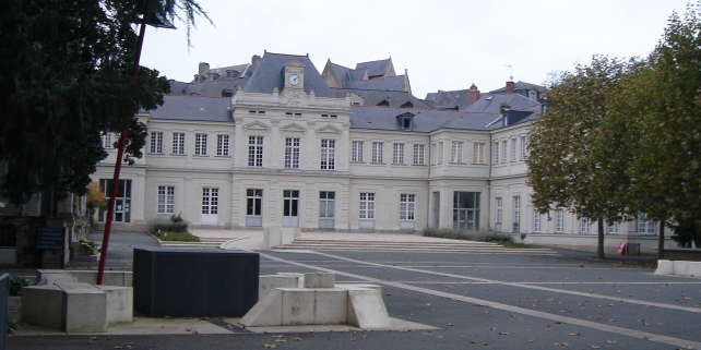 Le campus de l'Ensam, à Angers, en 2005.