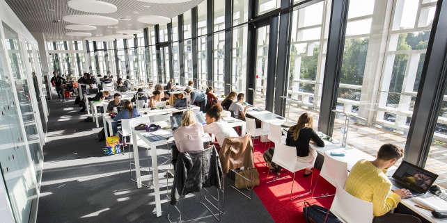 Lilliad, « learning center» de l'université de Lille