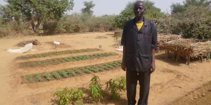 Souley Mamane, le professeur de production agricole du SIFA de Lokoko, au sud du Niger, enseigne la fabrication d'engrais artisanaux« pour casser les coûts de production et rester compétitifs».