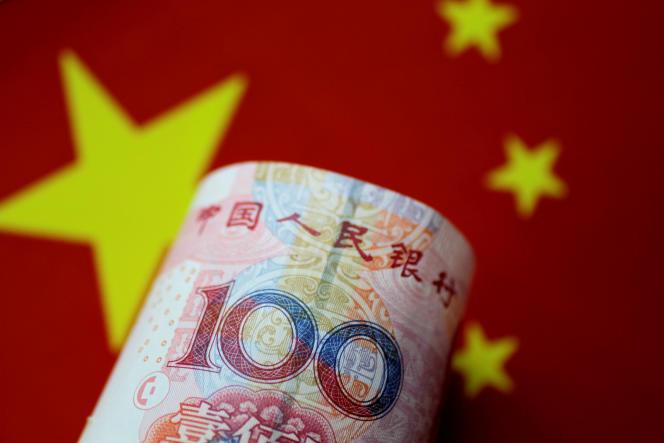 Un billet de la monnaie chinoise. Les banques centrales occidentales ont intégré le yuanà leurs réserves.
