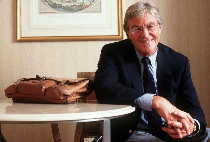 L'écrivain anglais Peter Mayle, le 20juin 1997.
